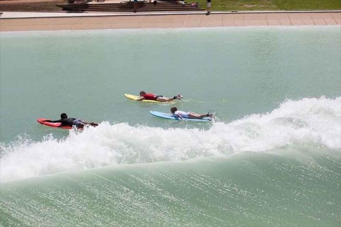 Paddle hard, catch a wave...