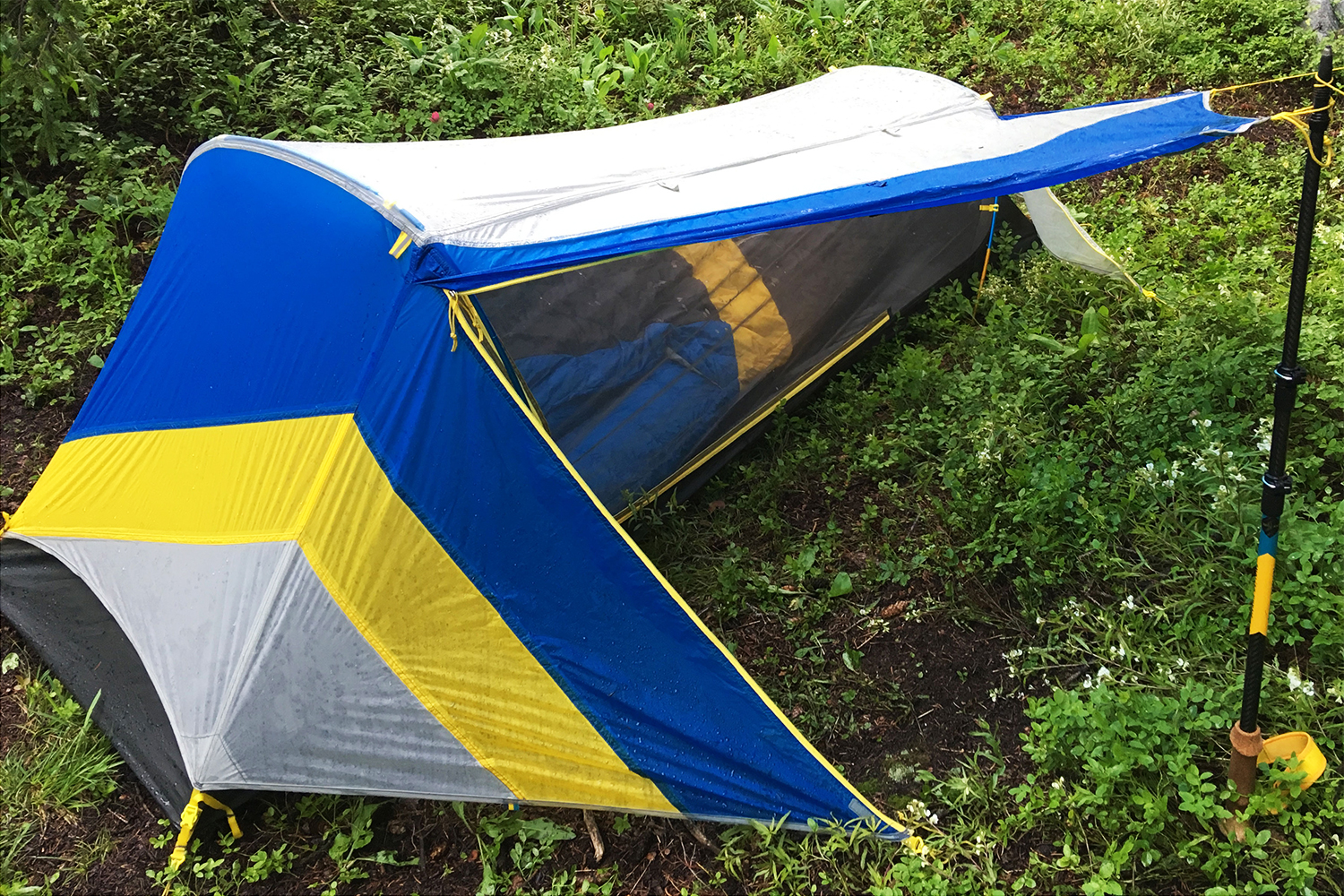 It wonu0027t rival a porch but given the High Sideu0027s internal size it adds welcomed sheltered sitting space for cooking or organizing gear. & Lean-To Shelter: First Look At u0027High Sideu0027 Tent