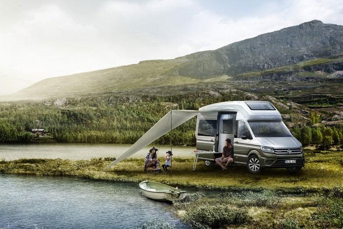 VW Concept Van: Ultimate Camper Unveiled At German 'Caravan
