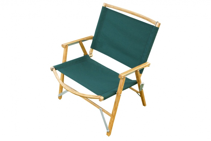 wooden camp chair