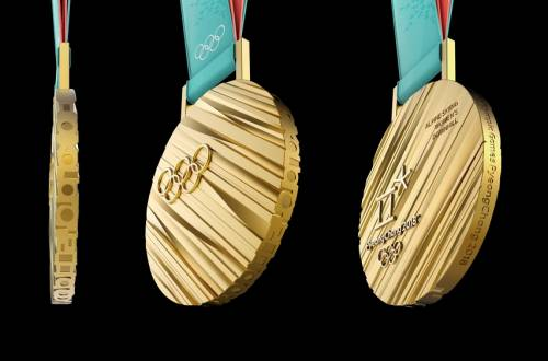 2018 South Korea Winter Olympic Medals