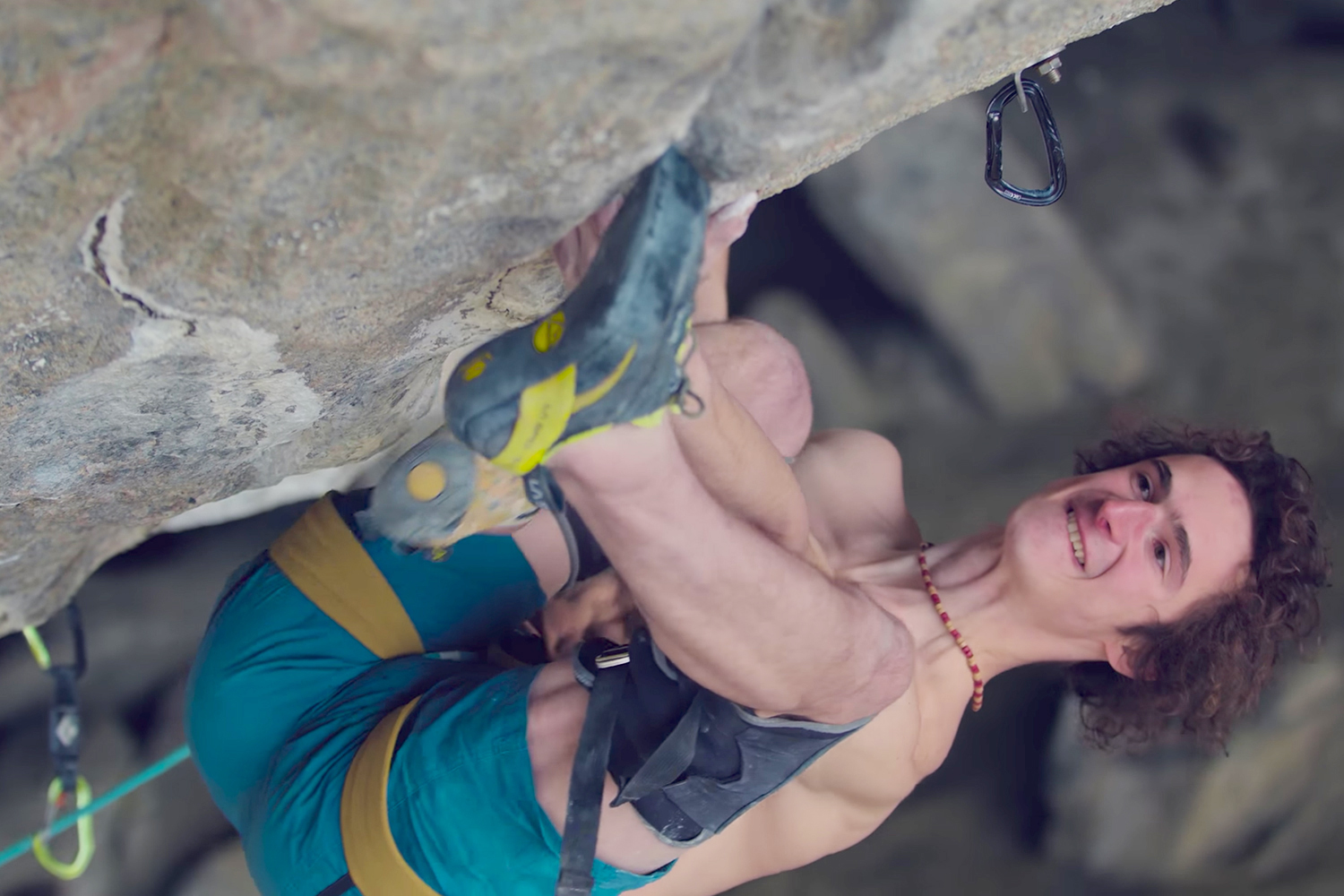 Adam Ondra Sends Worlds Hardest Rock Climb Project Hard