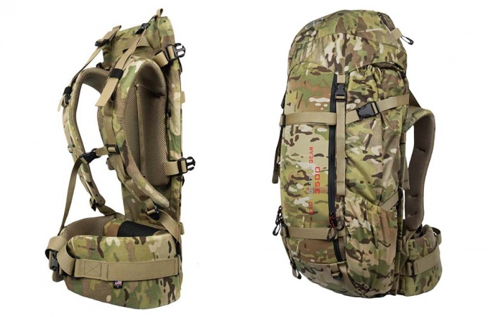 Review EXO Mountain Gear 3500 Hunting Pack