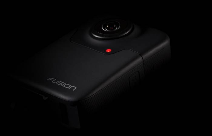 GoPro Fusion virtual reality camera