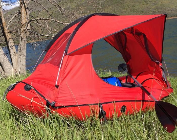 TRAFT Tent Raft