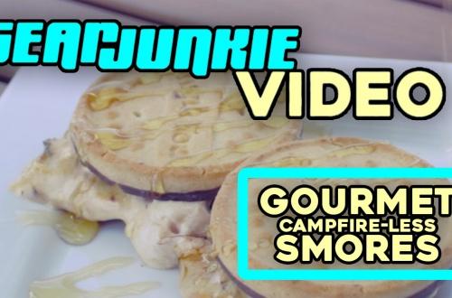 Gourmet Campfire-less Smores