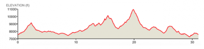 The Rut Elevation Profile