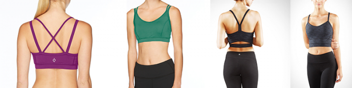 The Stonewear Tempo and Manduka Libertine are Other Great Low Impact Bras