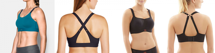 The UA Eclipse Bra and Panache Bra are Great High Impact Sports Bras