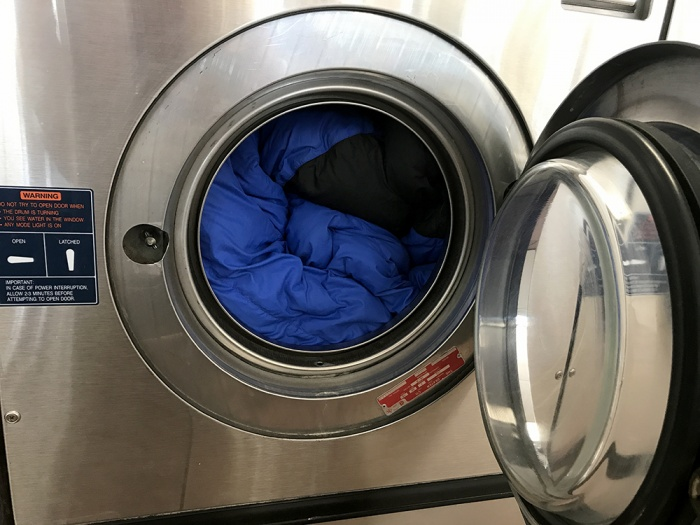 How to launder a down sleeping bag