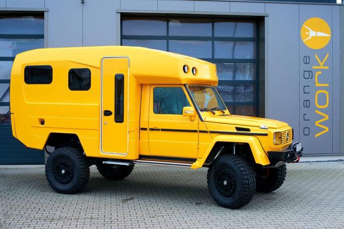 Orangework Lennson 3C Mercedes G 320 Camper