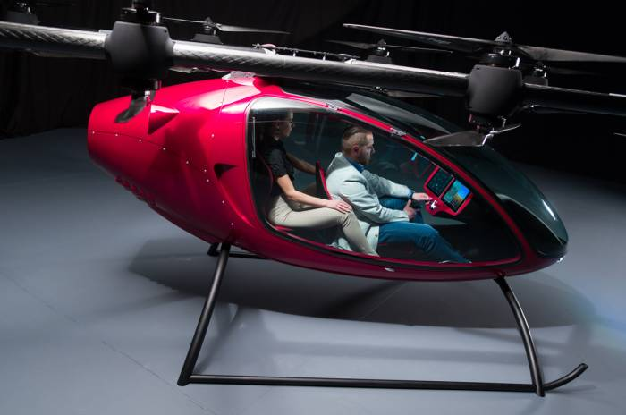 Passenger Drone Launches To Whisk You To Work