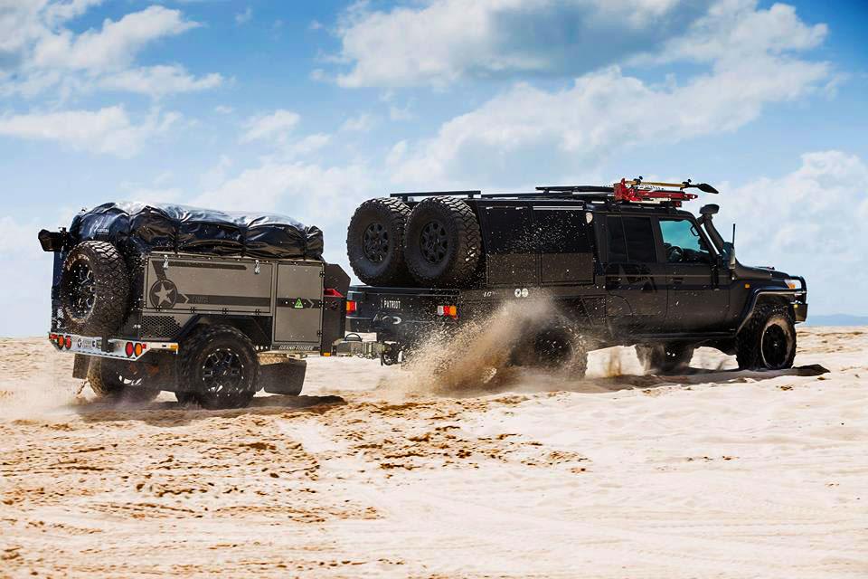 Tough As Nails: Australian Overland Trailer Hits U S  Market