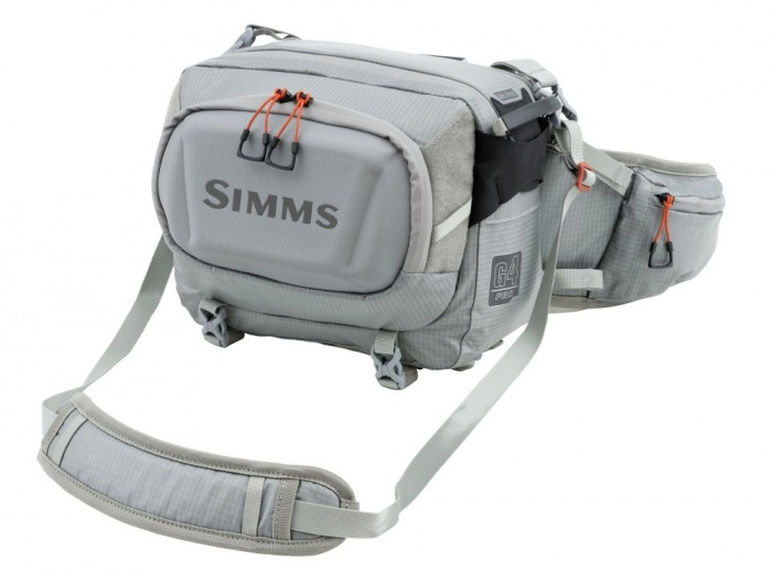 The Simms G4 Pro Hip Pack is a great fishing waist pack
