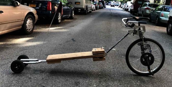 small cargo bike