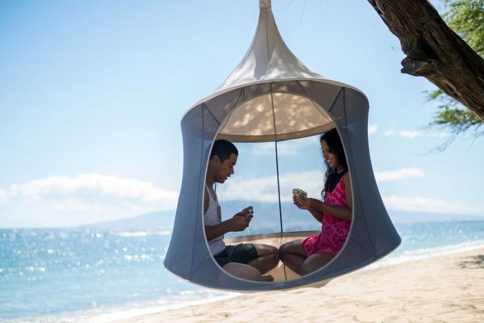 mesh treepod hammock Lounger and Cabana