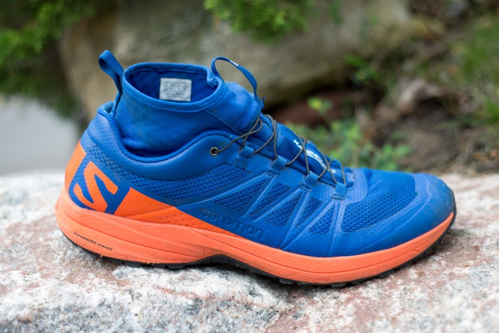 Salomon XA enduro trail running shoe review test