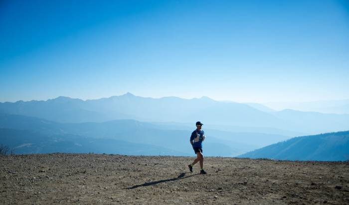 Couch to 50K Ultramarathon training in one month the rut
