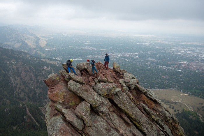 Flatiron Guide: Boulder, Colorado Rock Climbing