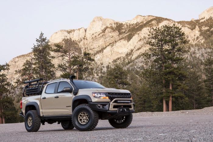 Ultimate Midsize Adventure Truck: Chevy Colorado ZR2 AEV | GearJunkie
