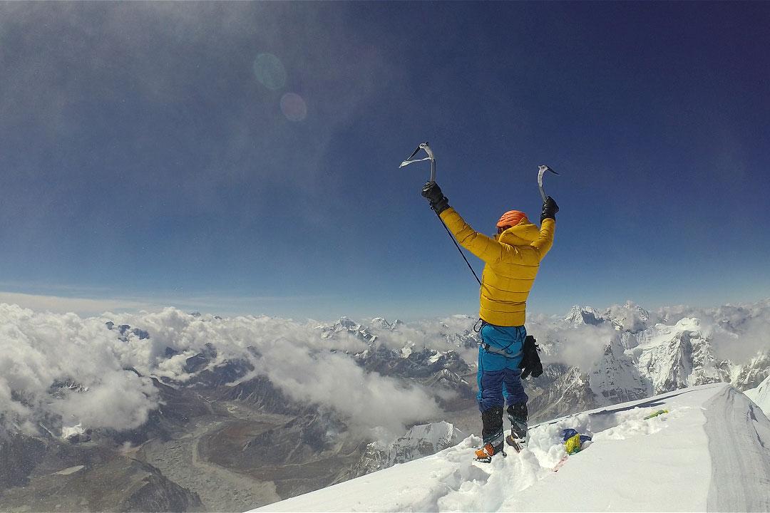 Nangpai Gosum II first ascent Jost Kobusch