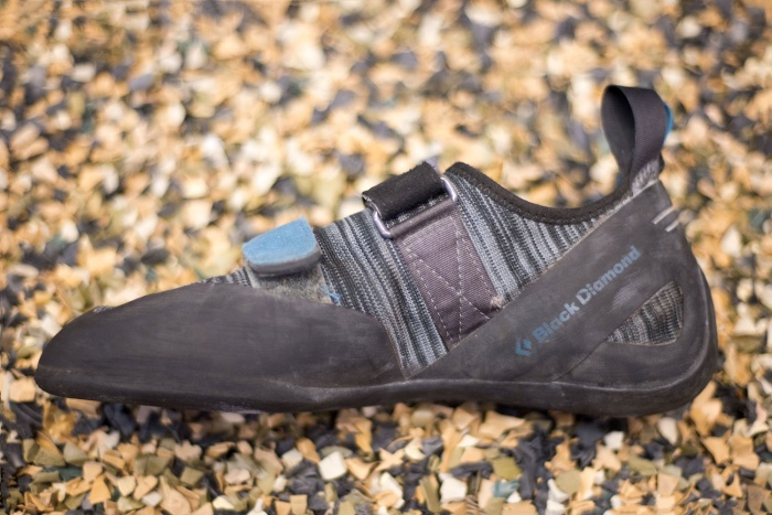 black diamond momentum indoor climbing shoe review