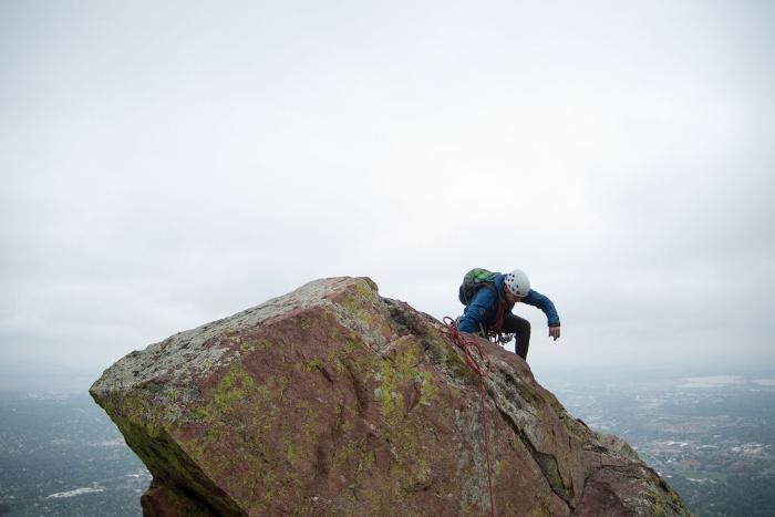 Flatiron Guide: Boulder, Colorado Rock Climbing