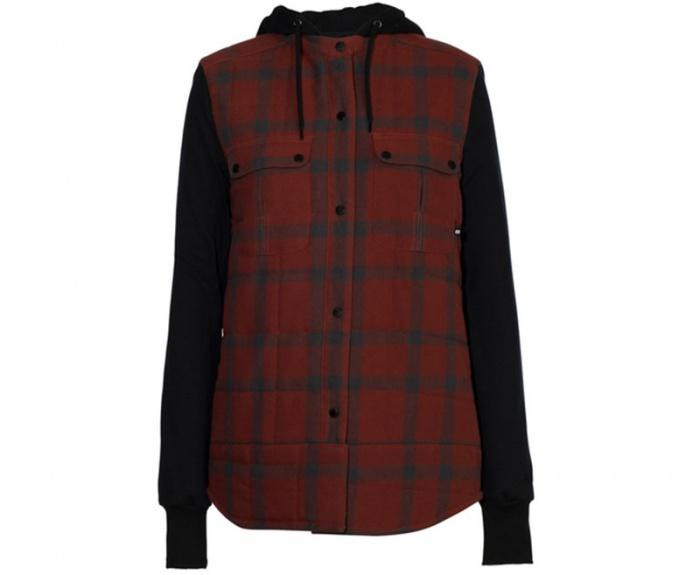 The Armada flannel jacket with hood