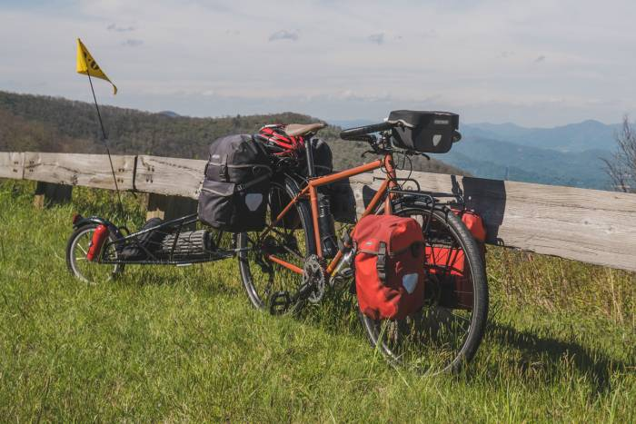 Packing It Out REI Co-op Cycles Adv 2.1 Bike and BOB Trailer