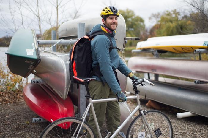 kondos outdoors trailblazer canoe pack bike bag