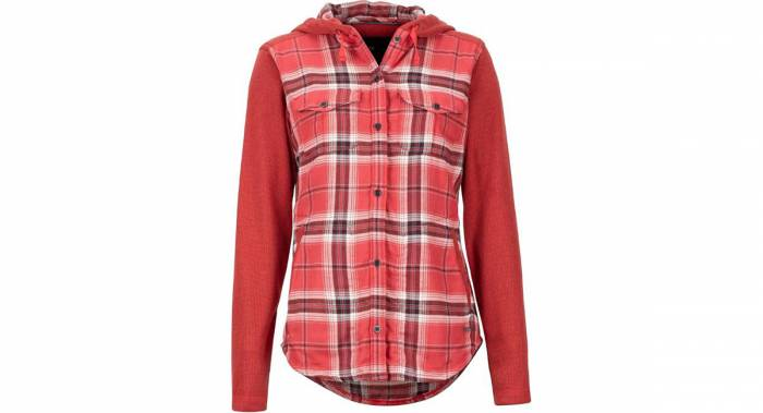 Marmot Hoodie Flannel - Best Women's Flannel Shirts