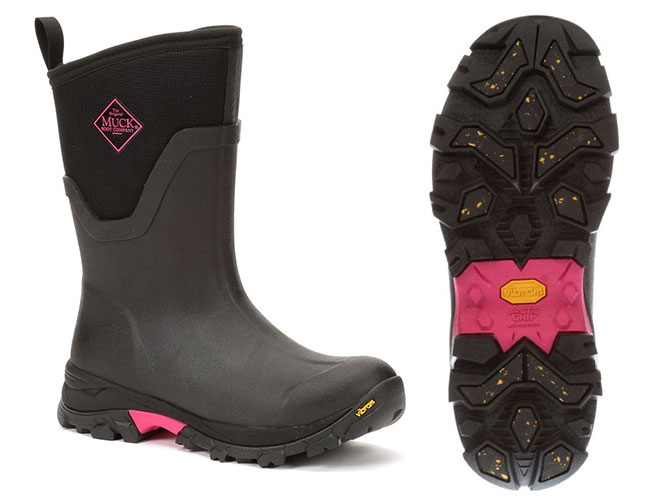 Women's Muck Boot for Ice Grips and Warms