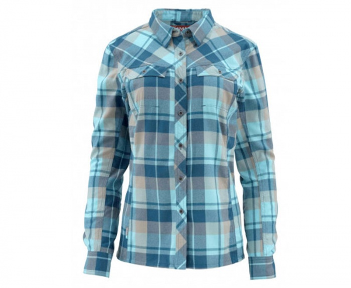 The Simms Women's Wool Blend Flannel is a great performance shirt.