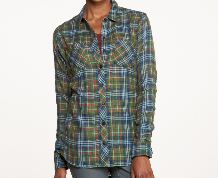 The Toad and Co Cairn is a great lightweight women's flannel shirt