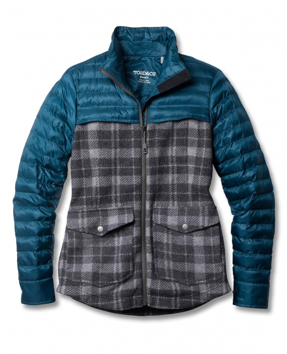 Toad and Co Brekinridge Parka is a flannel puffy jacket for women