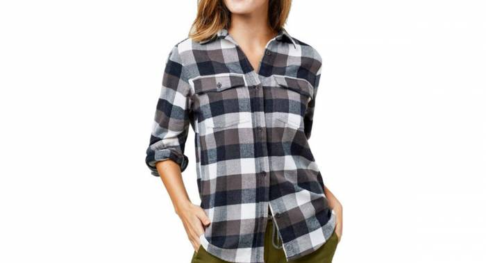 United by Blue Organic Flannel - Best Women's Flannel Shirts