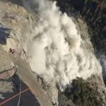 Yosemite rockfall
