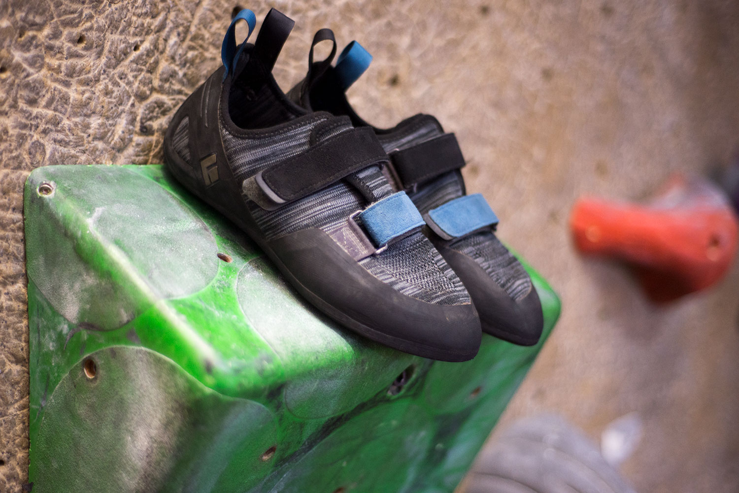 61dbc4a69fc Knit Comfort  Black Diamond s First Climbing Shoe Reviewed