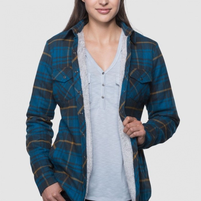 The Kuhl Kota Lined Flannel is a great jacket for women