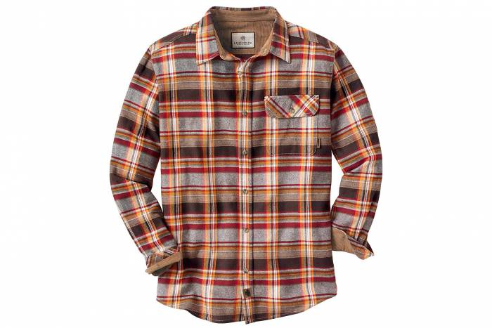 Best Flannels: legendary whitetails buck camp flannel shirt
