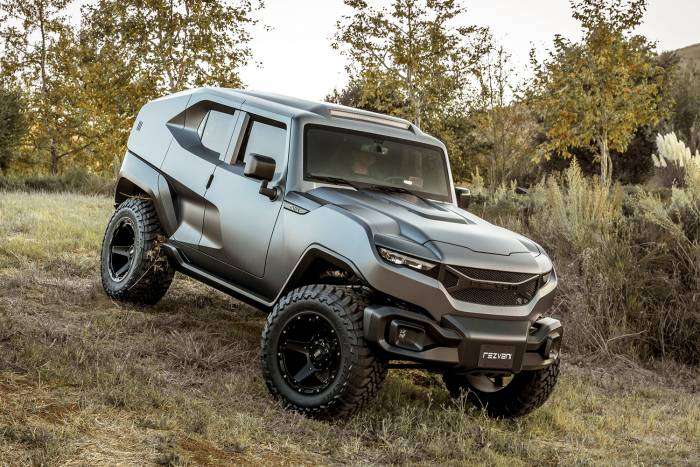 Rezvani Tank Ultimate Jeep Wranger Build 3