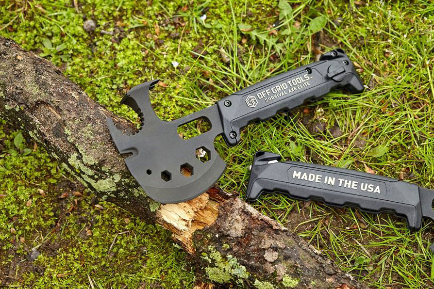 survival axe elite off grid tools