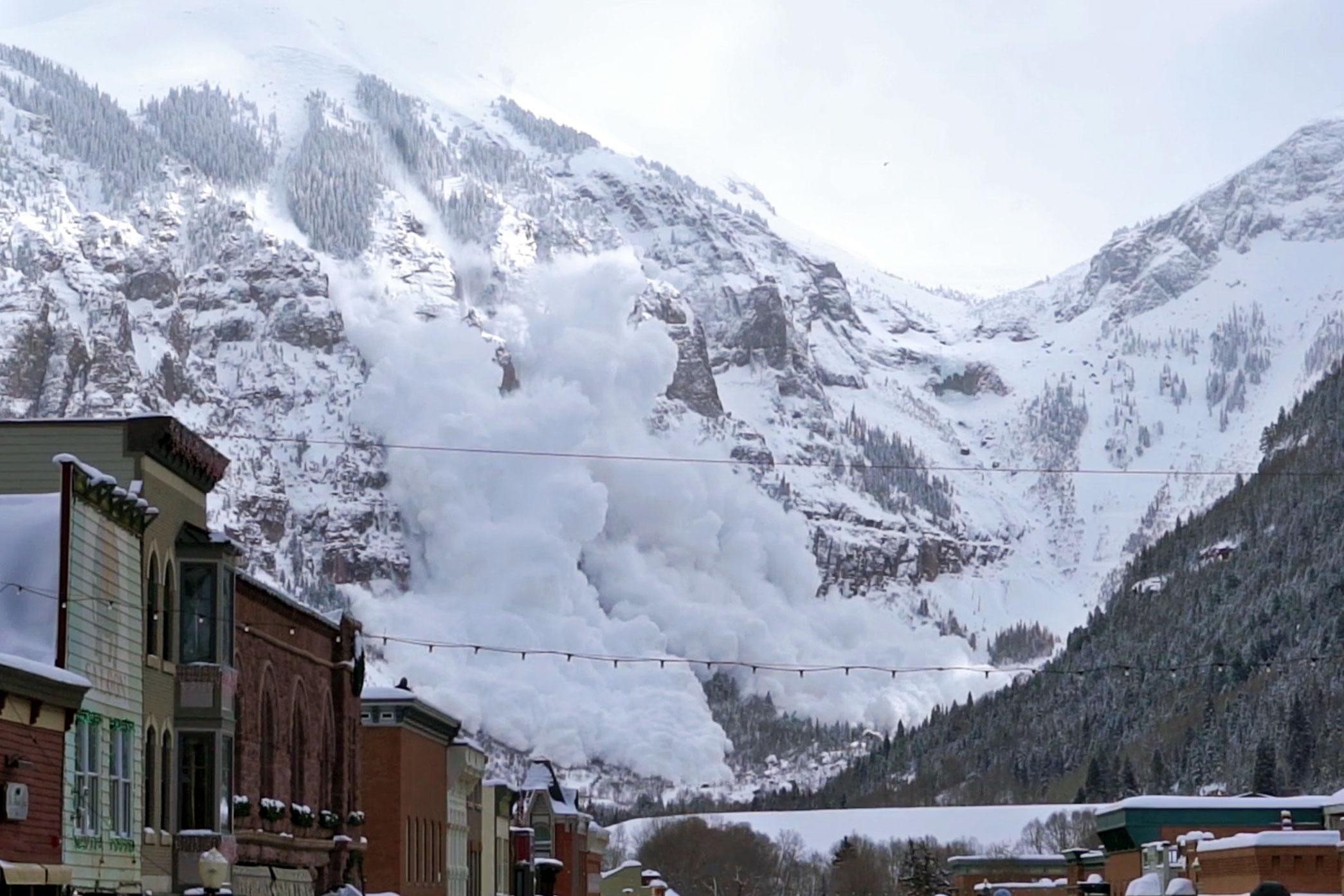 telluride avalanche