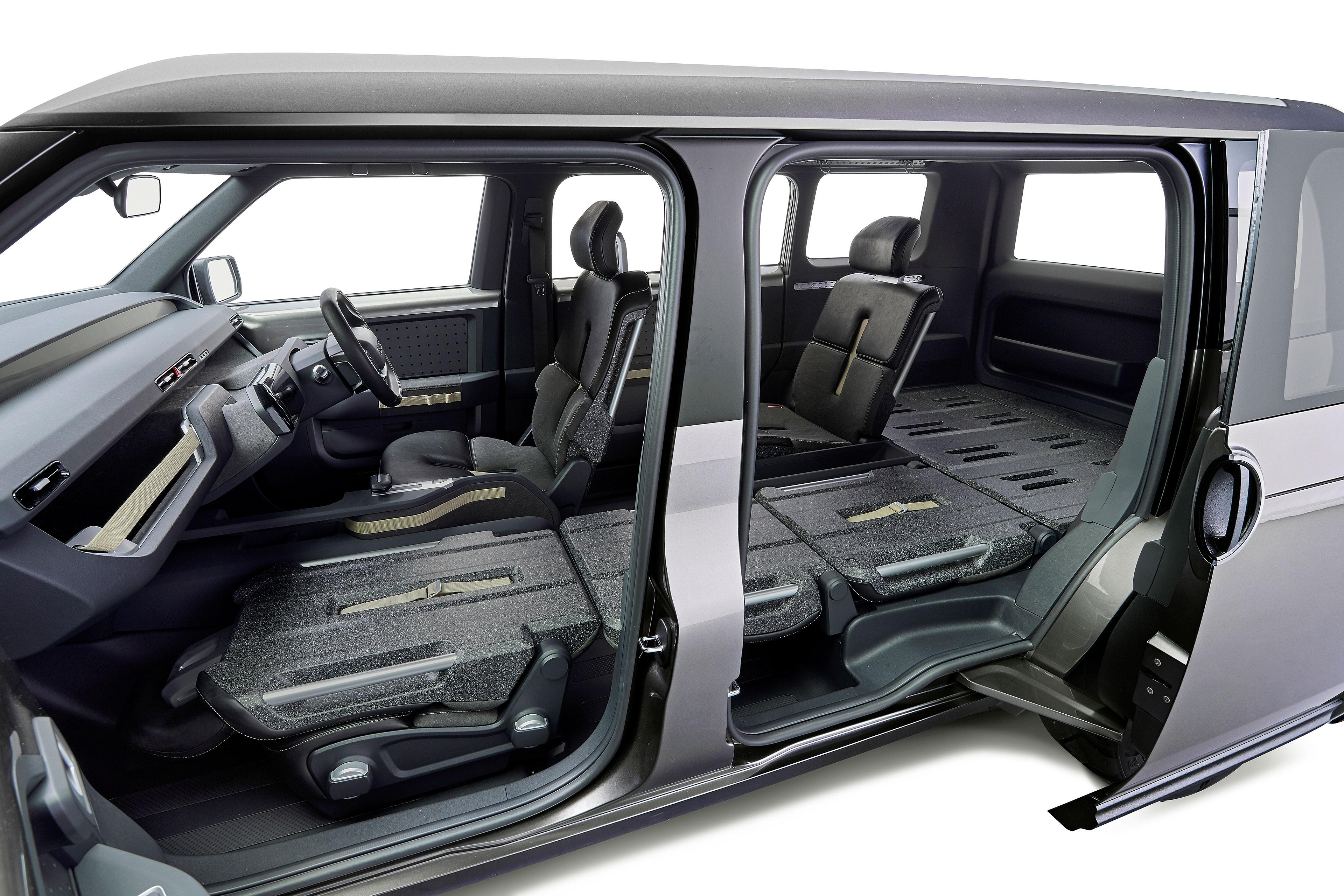 Toyota S Toolbox Concept Sport Utility Minivan Gearjunkie
