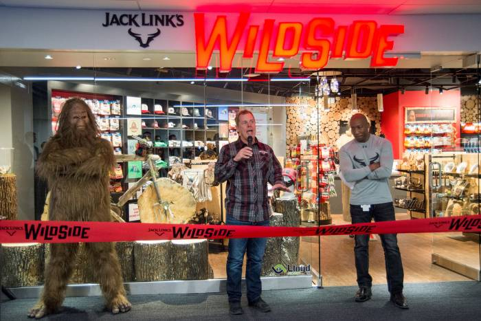 Jack Links Wild Side Retail store
