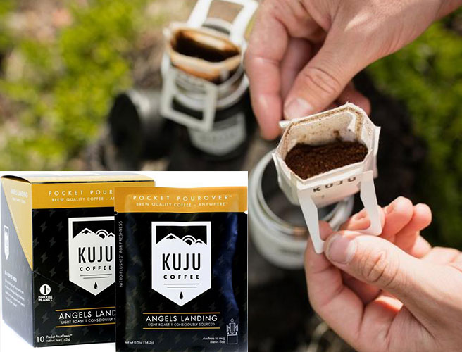 KUJU Pour Over Camping Coffee