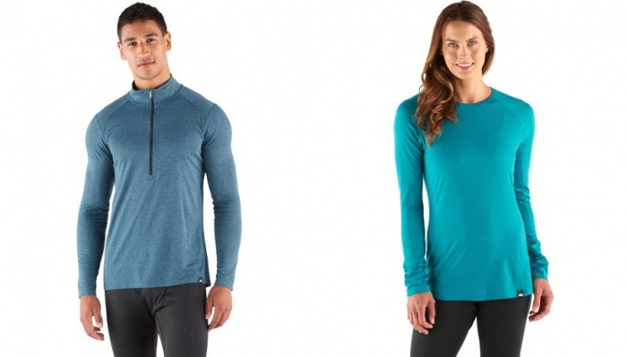 REI Cyber Week Sale: Women's and Men's REI Co-op Brand Base Layers and Underwear