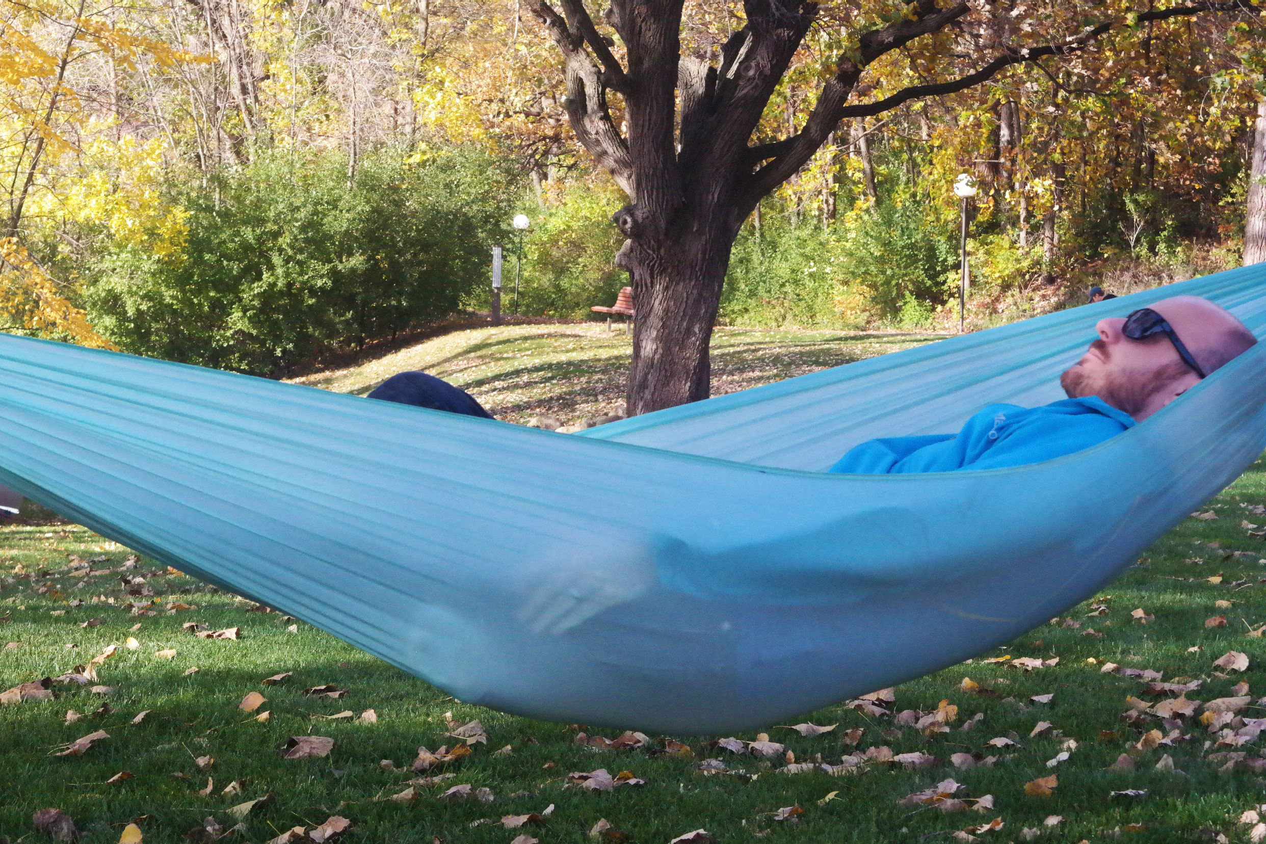 November 1 2017 Meet The Worlds Lightest Hammock