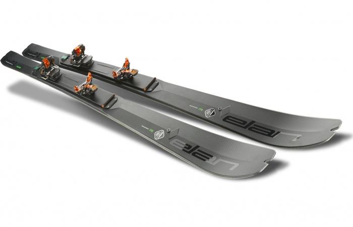 Elan Ibex Tactix mountaineering folding ski