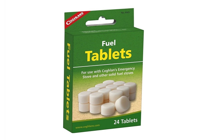Coghlan's Fuel Tablets: Amazon Camping Gear Guide under $15
